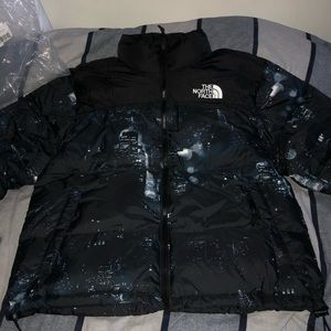 North Face Night Crawlers Nuptse Puffer Jacket L